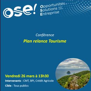 Plan relance Tourisme  - 26/03 13h30 (En ligne)